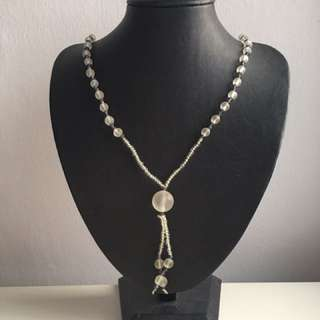 Brand New: Glass Bead Necklace