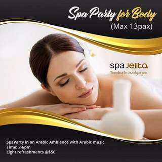 Spa party for Body