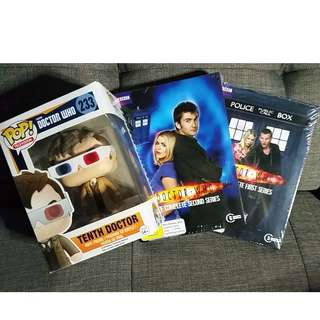 DOCTOR WHO Series 1-4, 9