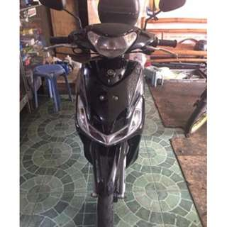 Yamaha Mio sporty Black (ALL STOCK) 2013 MODEL- mileage is 25,000+