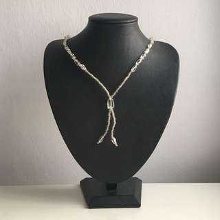 Brand New: Glass Bead Long Necklace