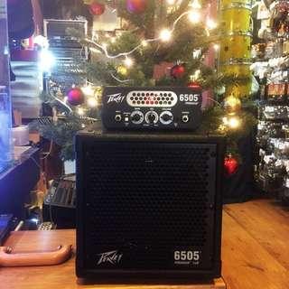 Peavey 6505Guitar Amplifier/ Cabinet