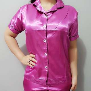 Pajamas satin