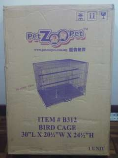 Bird cage 30x20x24in(H)