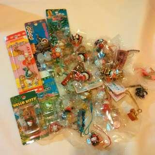 日本 Hello Kitty 吊飾 鎖匙扣 電話繩 key chains japan