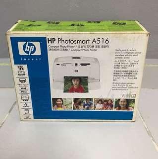 HP Photosmart A516 (used 3 times)