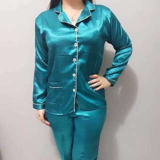 Pajamas Sleep satin long pants.All size  LD 105cm
