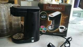【包寄順豐自取點】Dimenzio 膠囊咖啡機 可沖茶 90秒搞掂 唔洗落熱水