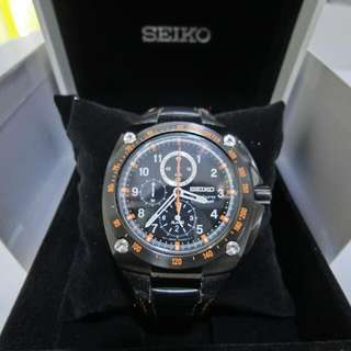 AUTHENTIC SEIKO SPORTURA CHRONOGRAPH WATCH 7T62-0KS0