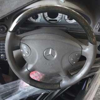 W211 stering wheel
