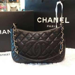 Preloved Chanel vintage moon zip