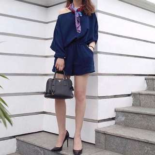 Modelano Pauline Jumpsuit Navy Blue