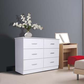 6 Drawers lowboy on sale now