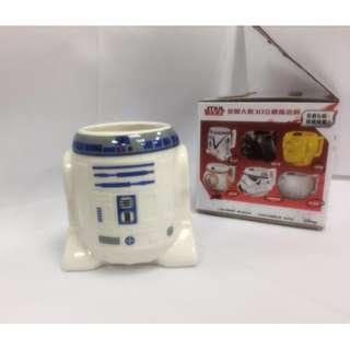 🚚 STAR WARS星際大戰3D立體馬克杯(R2-D2款)
