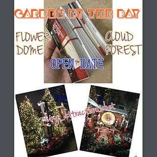 GBTB- GARDEN BY THE BAY (2 DOMES), FLOWER DOME & CLOUD FOREST- Instock & the cheapest in Town!!!
