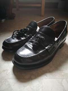 Grenson tassle loafers