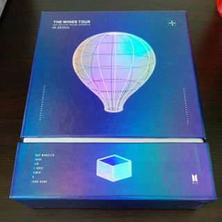 BTS Wings tour in Seoul DVD