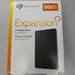 Seagate Expansion Portable Drive 500GB (STEA500400) [现货 Ready Stock]
