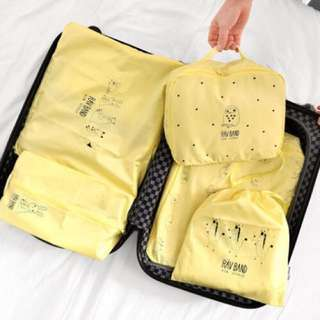5 Pcs Travel Bag