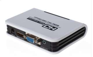 Convert 108P Audio HDMI to VGA HD HDTV Video Converter for PS3 DVD (HM-331L)