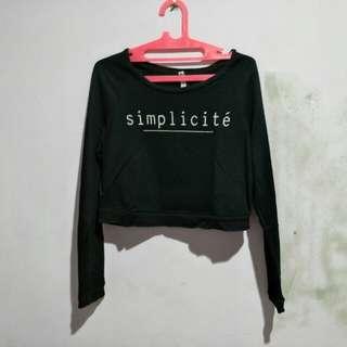 Sweater crop stradivarius