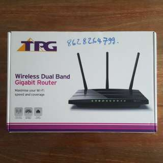 TPG Wireless Dual Band Gigabit Router