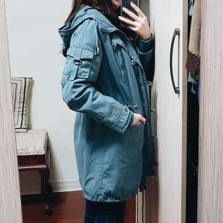 🚚 超保暖超美軍裝大衣