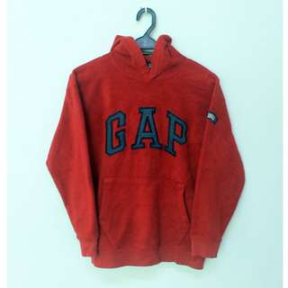 GAP Kids Maroon Hooded Sweater