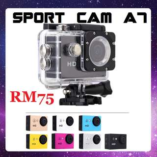 ACTION CAM A7 VIDEO SPORT CAMERA DIVING CORPORATE GIFT