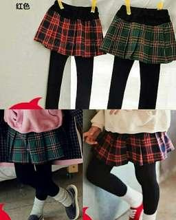🚚 格紋裙褲