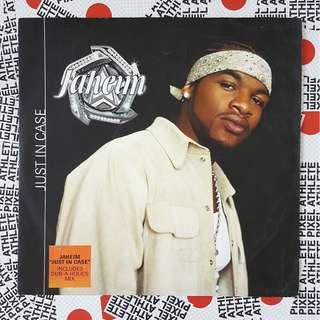 """JAHEIM - JUST IN CASE (2001) 12"""" vinyl record"""