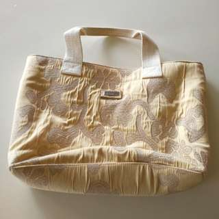 Jim Thompson yellow floral bag