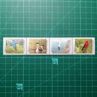 [均一價$10]1997 加拿大 雀鳥郵票II 新票一套