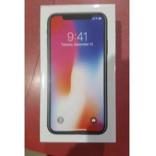 Brand New Unopened Iphone X Space Grey 256GB