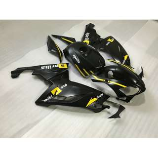 Aprilia RS125 Fairings kit Black
