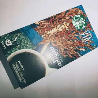 Starbucks 12小包 ANNIVERSARY BLEND VIA