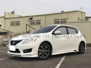 2013年 日產 BIG TIIDA 女用車  有興趣+LINE:@fkd7014c 或來電 0933969713 阿坤