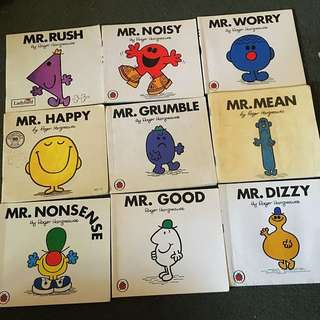 Mr Men & Little Miss Books By Roger Hargreaves