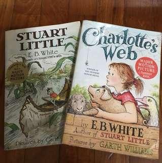 Stuart Little, Charlotte's web