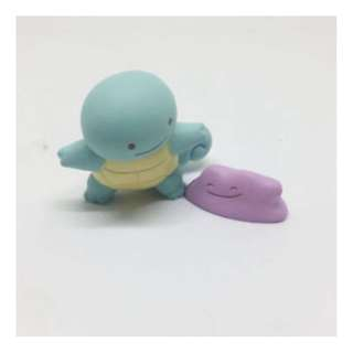 2017 Tokyo Pokecenter EXCLUSIVE Gachapon - Squirtle & Ditto Metamon (Vol. 1)
