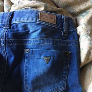 Guess Jeans Sz 26/32 Fitted
