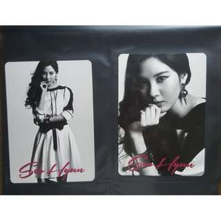 Selling SNSD Girls Generation Love & Peace Concert Official Photocards