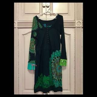 Desigual Long Sleeve Dress