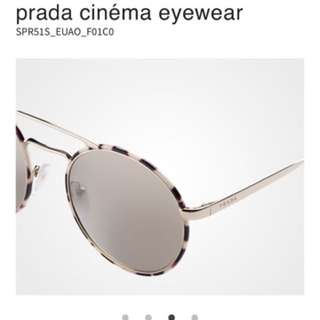 Prada Cinema Sunnies