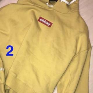 Yellow jumper from stussy