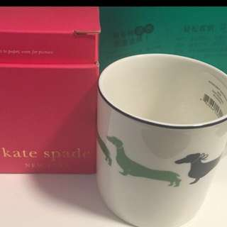 Brand New Kate Spade Mug Xmas交換禮物選擇gift
