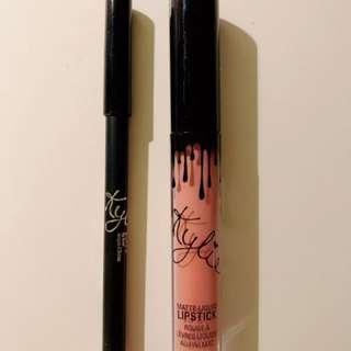 Kylie Jenner matte liquid lipstick and lip liner