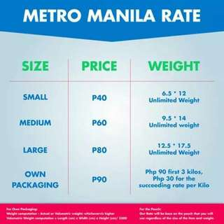 Pls. See Zoom Rates & Holiday Schedules