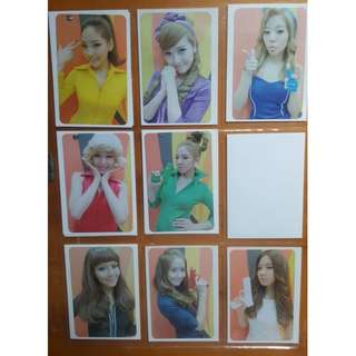 Selling SNSD Girls Generation Hoot Official Photocards