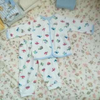 全新 寶寶套裝 上衣外套+長袖